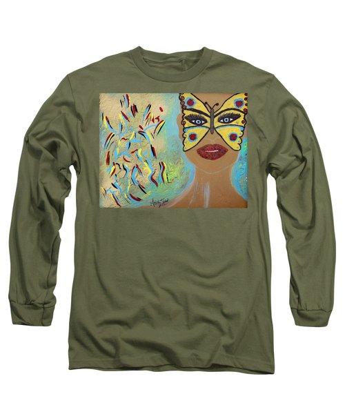Butterfly Moment Long Sleeve T-Shirt