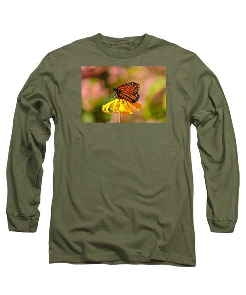 Butterfly Monet Long Sleeve T-Shirt