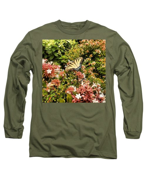 Butterfly...... Open Your Wings And Fly Long Sleeve T-Shirt