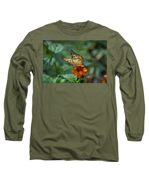 Long Sleeve T-Shirt featuring the photograph Butterfly Wings Of Sun Light by Thomas Woolworth