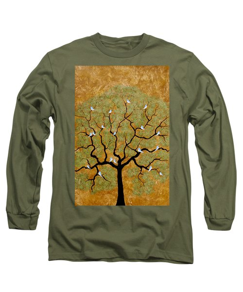 By The Tree Re-painted Long Sleeve T-Shirt