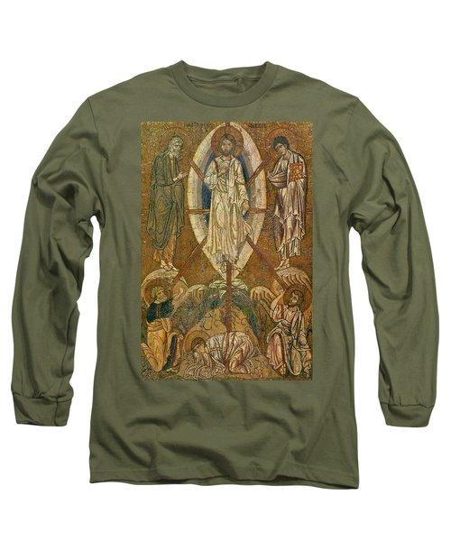 Byzantine Icon Depicting The Transfiguration Long Sleeve T-Shirt