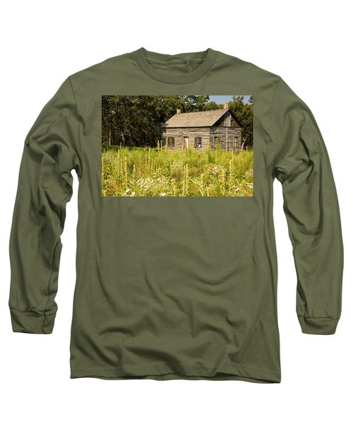 Cabin In The Prairie Long Sleeve T-Shirt