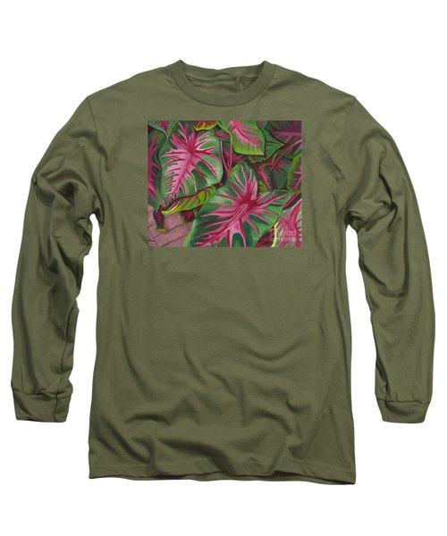 Caladiums Long Sleeve T-Shirt