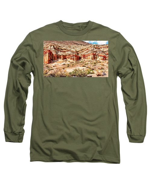 California State Parks Red Rock Canyon Long Sleeve T-Shirt