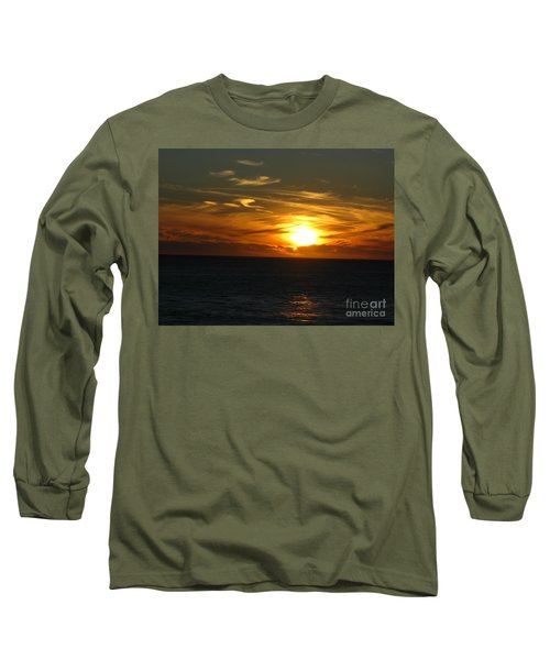 California Winter Sunset Long Sleeve T-Shirt