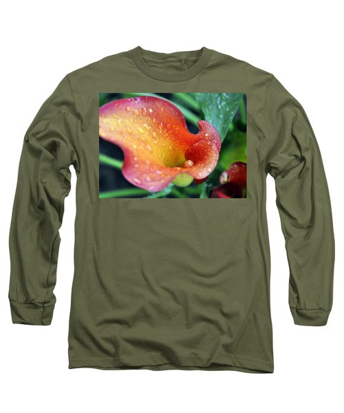 Calla Lily Long Sleeve T-Shirt by Jim Brage
