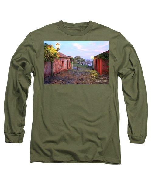 Long Sleeve T-Shirt featuring the photograph Calle De Los Suspiros by Bernardo Galmarini