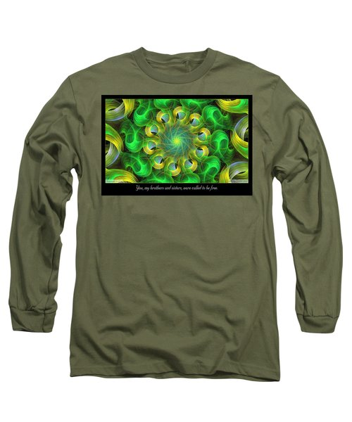 Called To Be Free Long Sleeve T-Shirt
