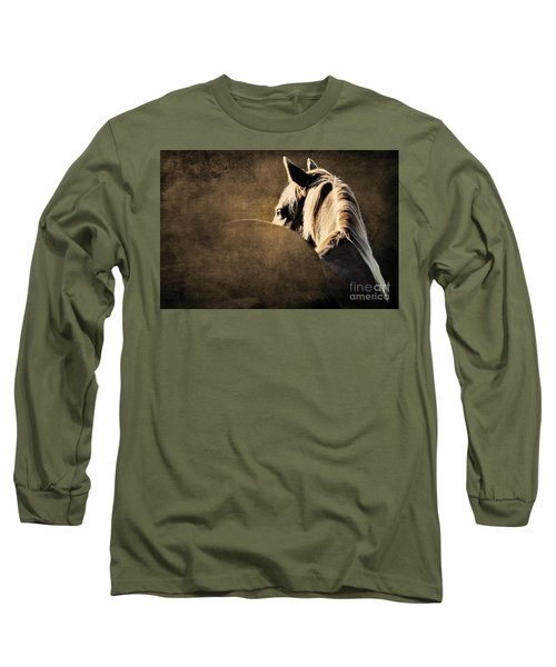 Calm Awareness 2 Vignette Long Sleeve T-Shirt