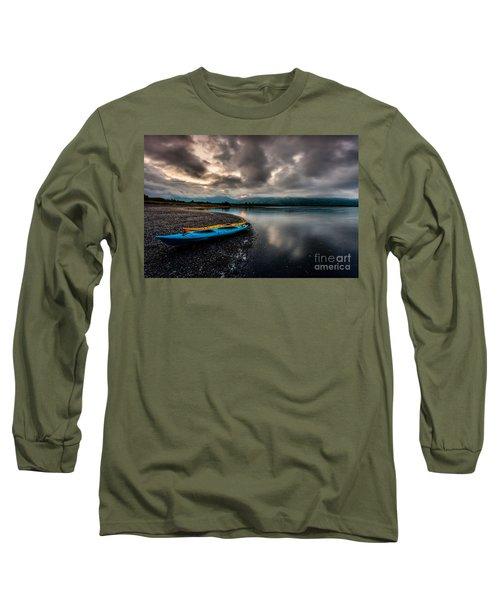 Calm Evening Long Sleeve T-Shirt by Steven Reed