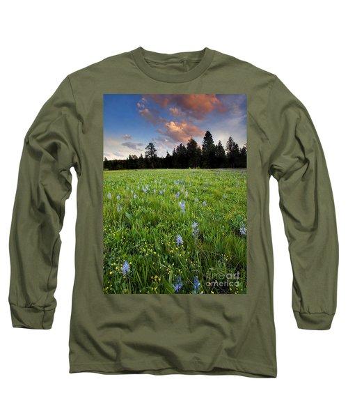 Camas Sunset Long Sleeve T-Shirt
