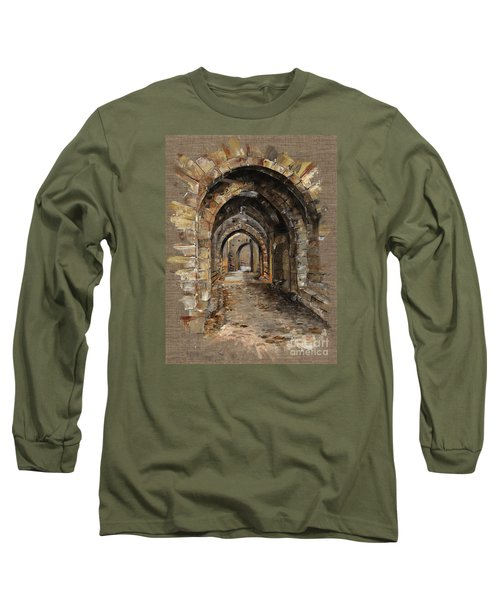 Camelot -  The Way To Ancient Times - Elena Yakubovich Long Sleeve T-Shirt by Elena Yakubovich