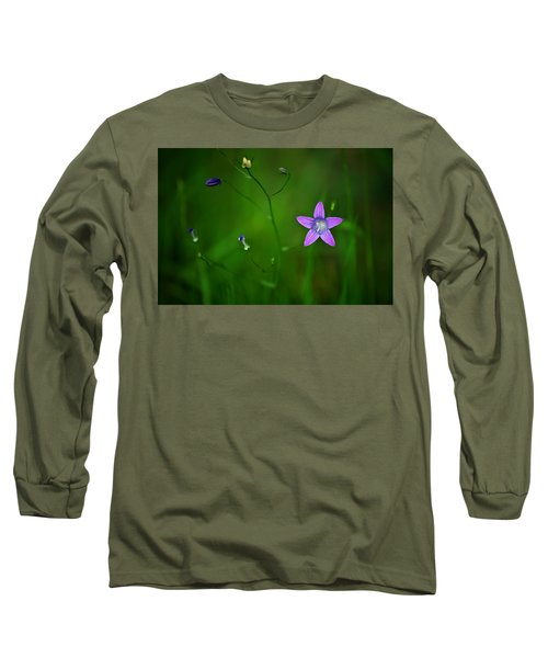Campanula Patula Long Sleeve T-Shirt