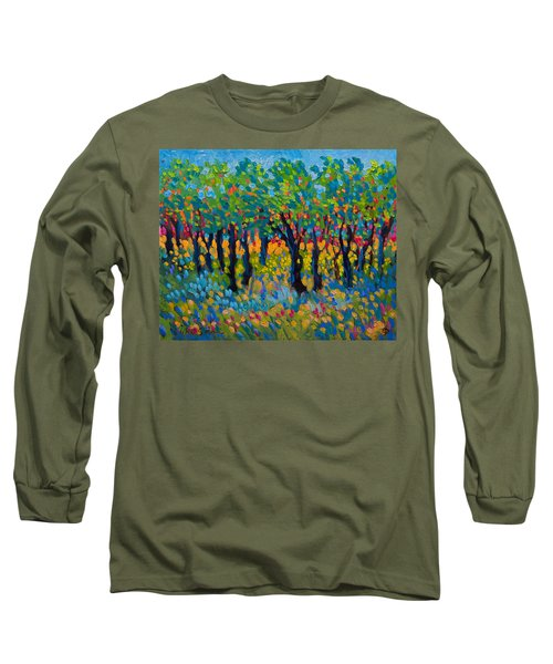 Candy Wood Long Sleeve T-Shirt