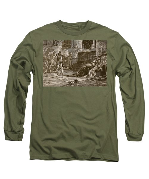 Capture Of Bruces Wife And Daughter Long Sleeve T-Shirt
