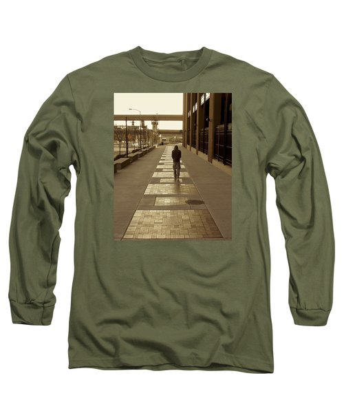 Long Sleeve T-Shirt featuring the photograph Cardinals' Walk Of Fame by Jane Eleanor Nicholas