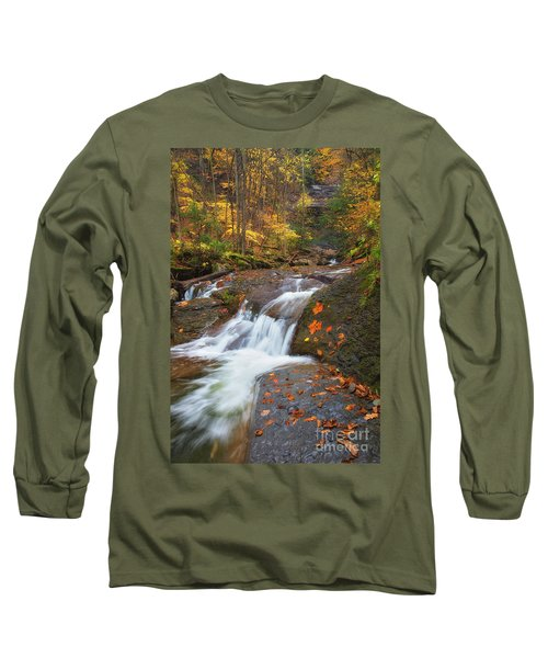 Cascade In The Glen Long Sleeve T-Shirt