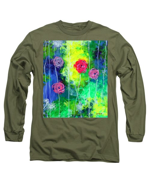 Cascading Light By Jan Marvin Long Sleeve T-Shirt
