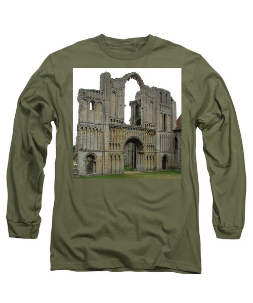 Long Sleeve T-Shirt featuring the photograph Castle Acre Abbey by Stephanie Grant