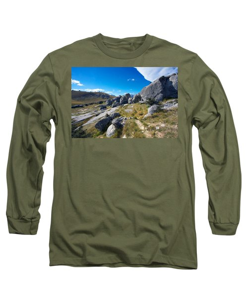 Castle Hill #4 Long Sleeve T-Shirt by Stuart Litoff