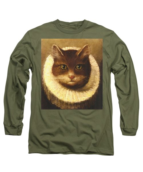 Cat In A Ruff Long Sleeve T-Shirt