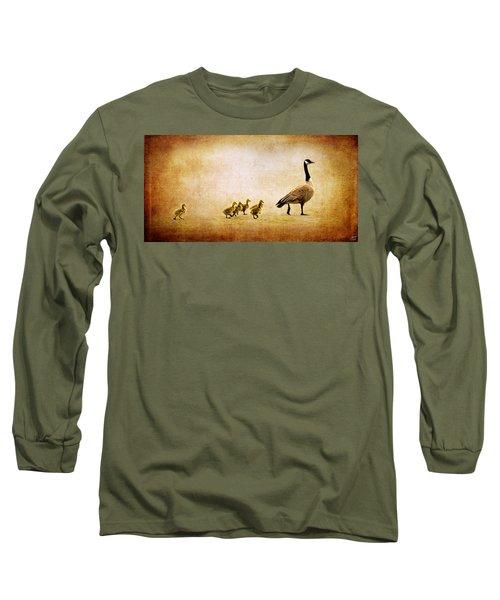 Catch Up Little Gosling Long Sleeve T-Shirt