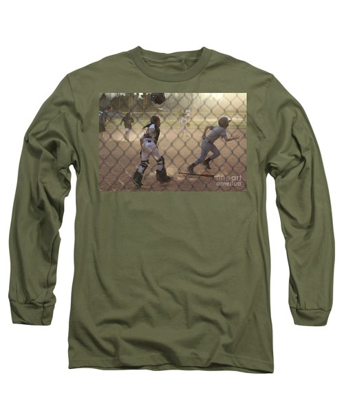 Catcher In Action Long Sleeve T-Shirt