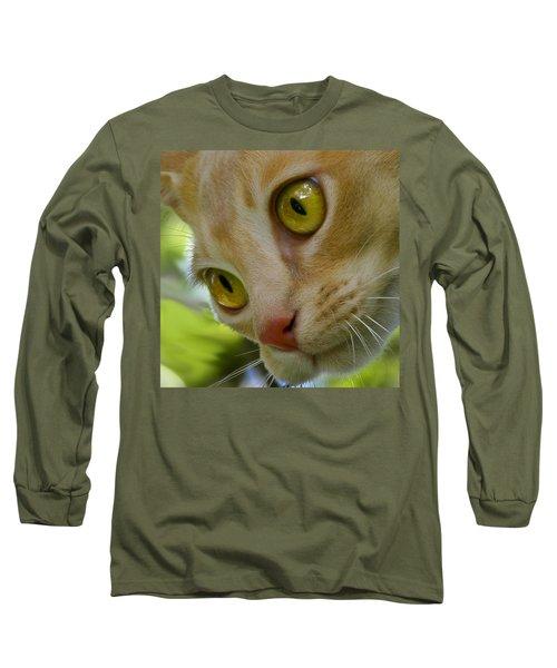 Cats Eyes Long Sleeve T-Shirt