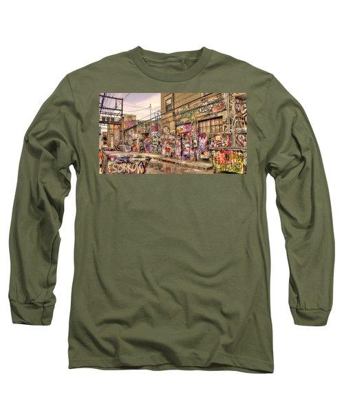 Caution Wet Paint Long Sleeve T-Shirt
