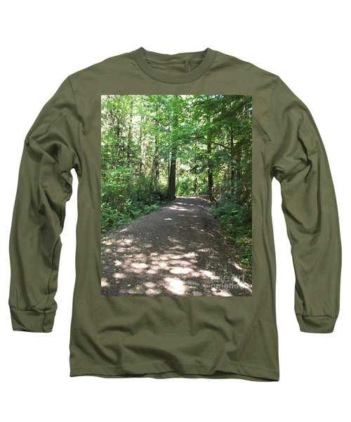Cedar Shadow Steps Long Sleeve T-Shirt by Kim Prowse