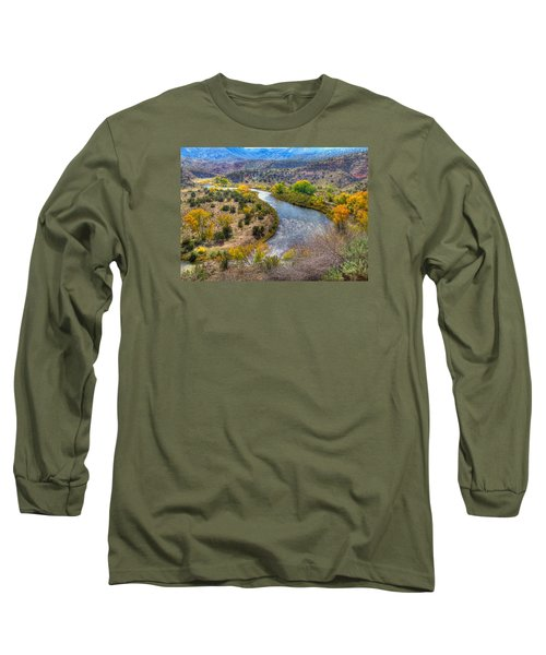 Chama River Overlook Long Sleeve T-Shirt by Alan Toepfer
