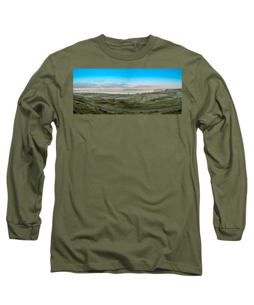 Long Sleeve T-Shirt featuring the photograph Chambers Bay Panorama by E Faithe Lester