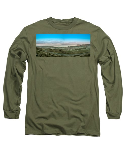 Chambers Bay Panorama Long Sleeve T-Shirt