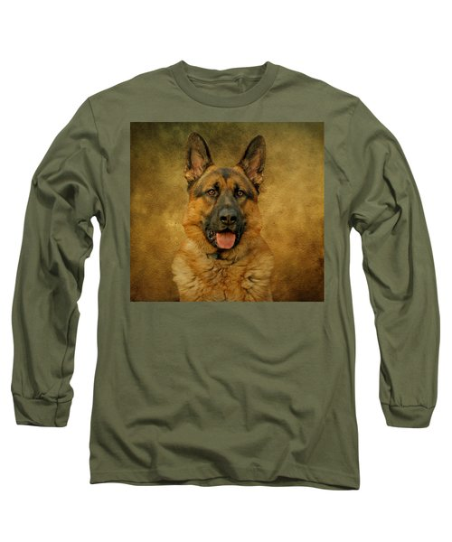 Chance - German Shepherd Long Sleeve T-Shirt
