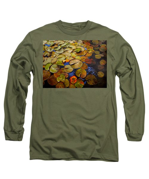 Change Of Season Long Sleeve T-Shirt by Thu Nguyen