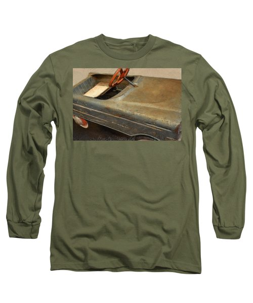 Charger Pedal Car Long Sleeve T-Shirt