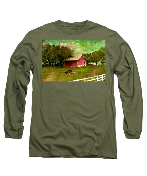 Chartreuse Of Legend Long Sleeve T-Shirt by Liane Wright