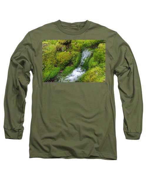 Long Sleeve T-Shirt featuring the photograph Chasing Waterfalls by Marilyn Wilson