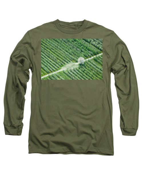 Long Sleeve T-Shirt featuring the photograph Cherry Tree by Davorin Mance