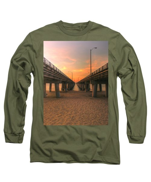 Chesapeake Bay Bridge IIi  Long Sleeve T-Shirt