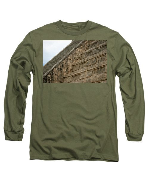 Long Sleeve T-Shirt featuring the photograph Chichen Itza by Silvia Bruno