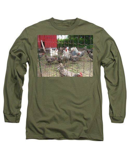 Chicken Coop. Long Sleeve T-Shirt