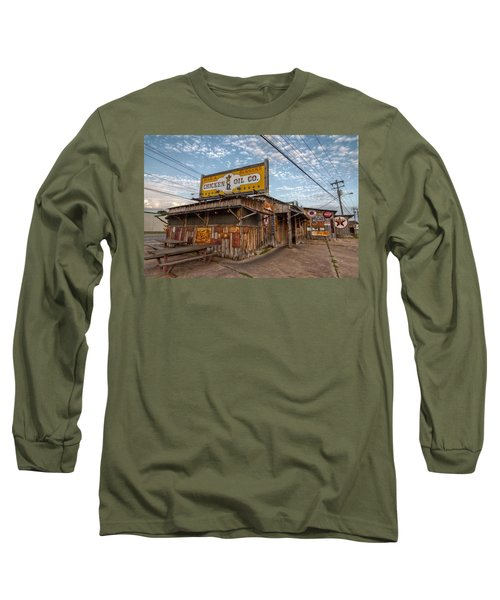 Chicken Oil Company Long Sleeve T-Shirt