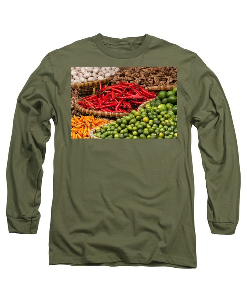 Chillies 01 Long Sleeve T-Shirt