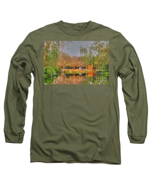 Chineese Garden Long Sleeve T-Shirt