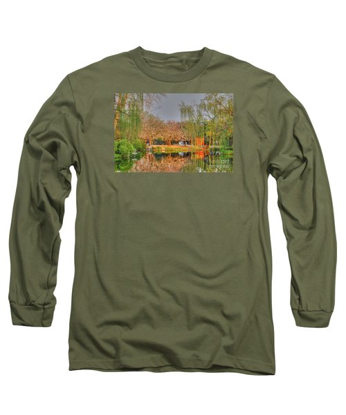 Chineese Garden Long Sleeve T-Shirt