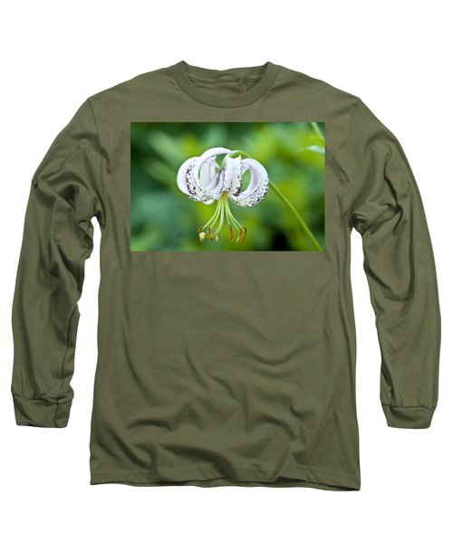 Chinese Lily Long Sleeve T-Shirt by Lana Enderle