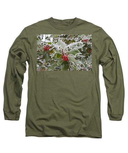 Christmas Greetings Long Sleeve T-Shirt by Felicia Tica