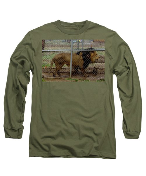 Christmas Lion Long Sleeve T-Shirt